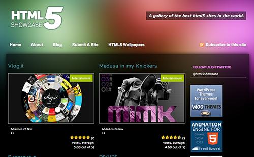 HTML5 Showcase