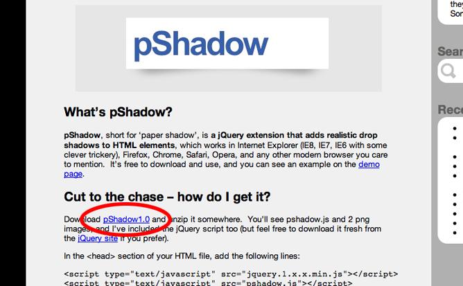 pShadowのダウンロード