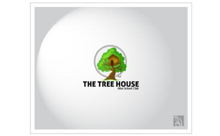 木のロゴデザイン01