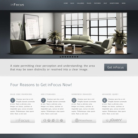WordPress Theme01