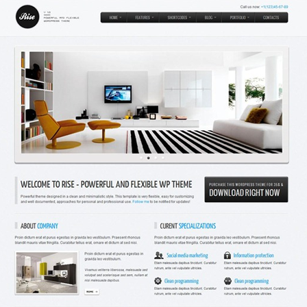 WordPress Theme05