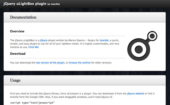 jQuery uLightBox plugin 01