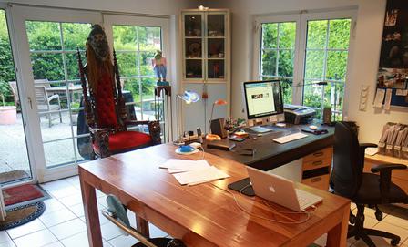 クリエイティブ、フリーランスのオフィス01