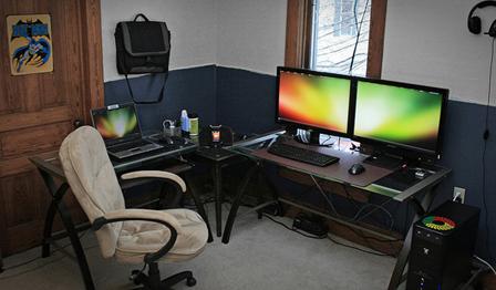 クリエイティブ、フリーランスのオフィス03