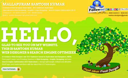 Santosh Kumar – Freelance Web Designer