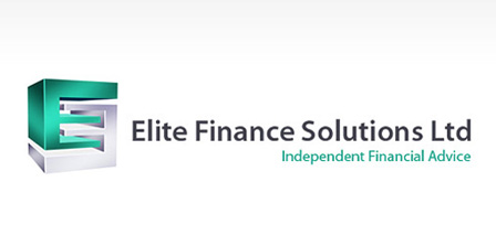 Metallic Logo Design – Elite Finance Solutions Limited