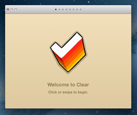MacのClearを起動
