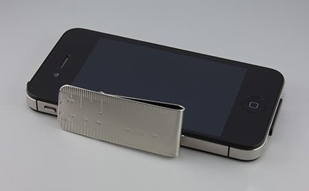 iPhone4Sと比較した時のサイズ感