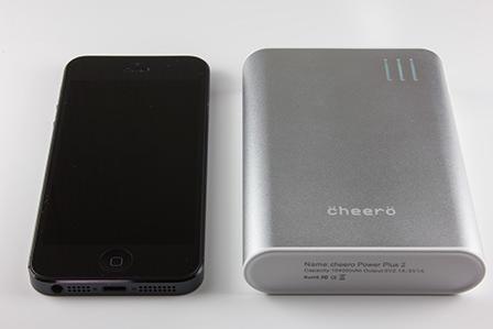 cheeroとiPhone5を比較