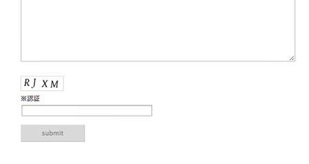 CAPTCHAを設置