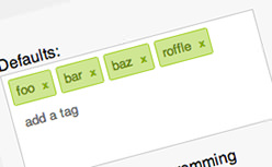 jQuery Tags Input