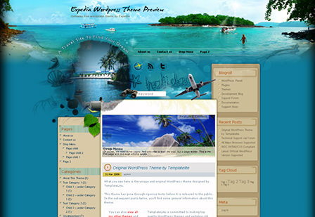 Getaway WordPress Theme