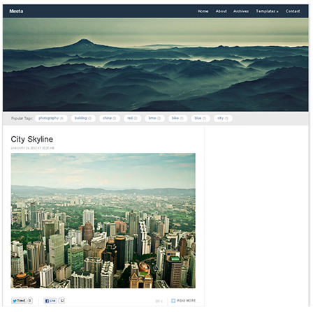 Meeta Responsive WordPress Theme