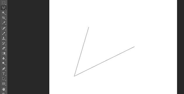 3つの点をクリックして三角形を作成