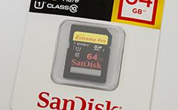 サンディスク エクストリーム プロ「SDSDXPA-064G-J35」を購入
