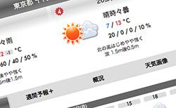 Macの天気予報アプリ「そら案内」