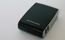 iBUFFALOのUSB充電器(4ポートタイプ)