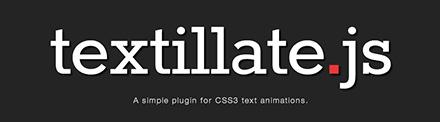 Textillate.js