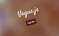 Vague.js