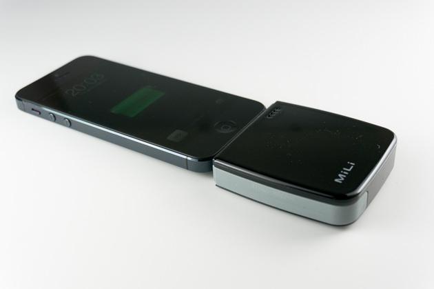 iPhoneを充電