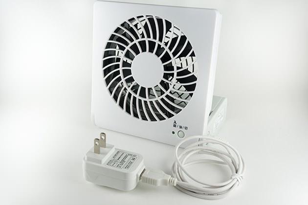 コンパクトデスク扇風機 NPM-1081U