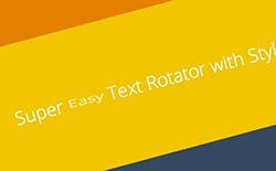 Text Rotator