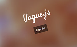 Vague.js