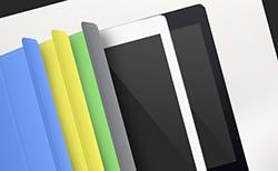 iPad Airのテンプレート素材(PSD)