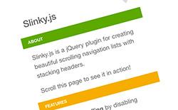 Slinky.js
