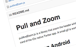 Pull and Zoom