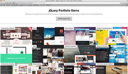 JQuery Portfolio