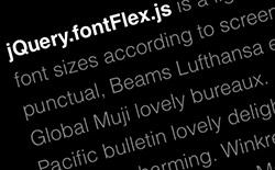 jQuery.fontFlex