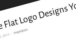 フラットデザインのクリエイティブなロゴ