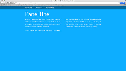 jQuery Panelize Plugin