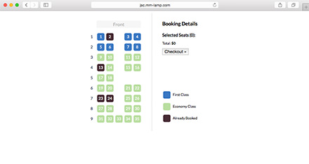 jQuery Seat Charts