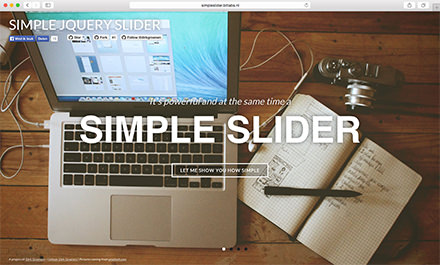 Simple jQuery slider