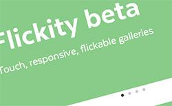 タッチ、フリック、レスポンシブ対応のスライダーギャラリー「Flickity