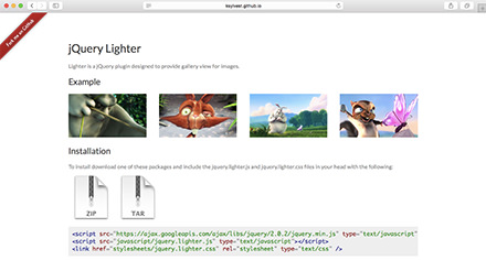 jQuery Lighterのデモ