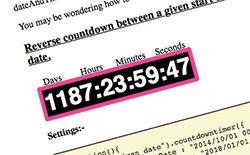 jquery countDownTimer