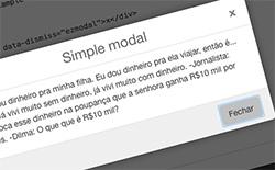 Easy Z modal
