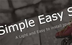 Simple Easy Slider