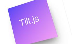 Tilt.js