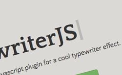 Typewriter JS