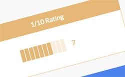 jQuery Bar Rating