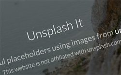Unsplash It