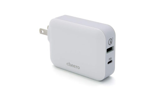 cheero Smart USB Charger 48W CHE-320