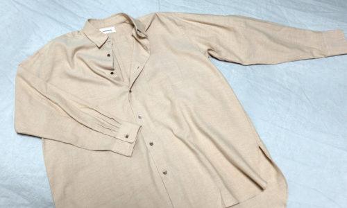 オーガニックオックスコンフォートフィットシャツ