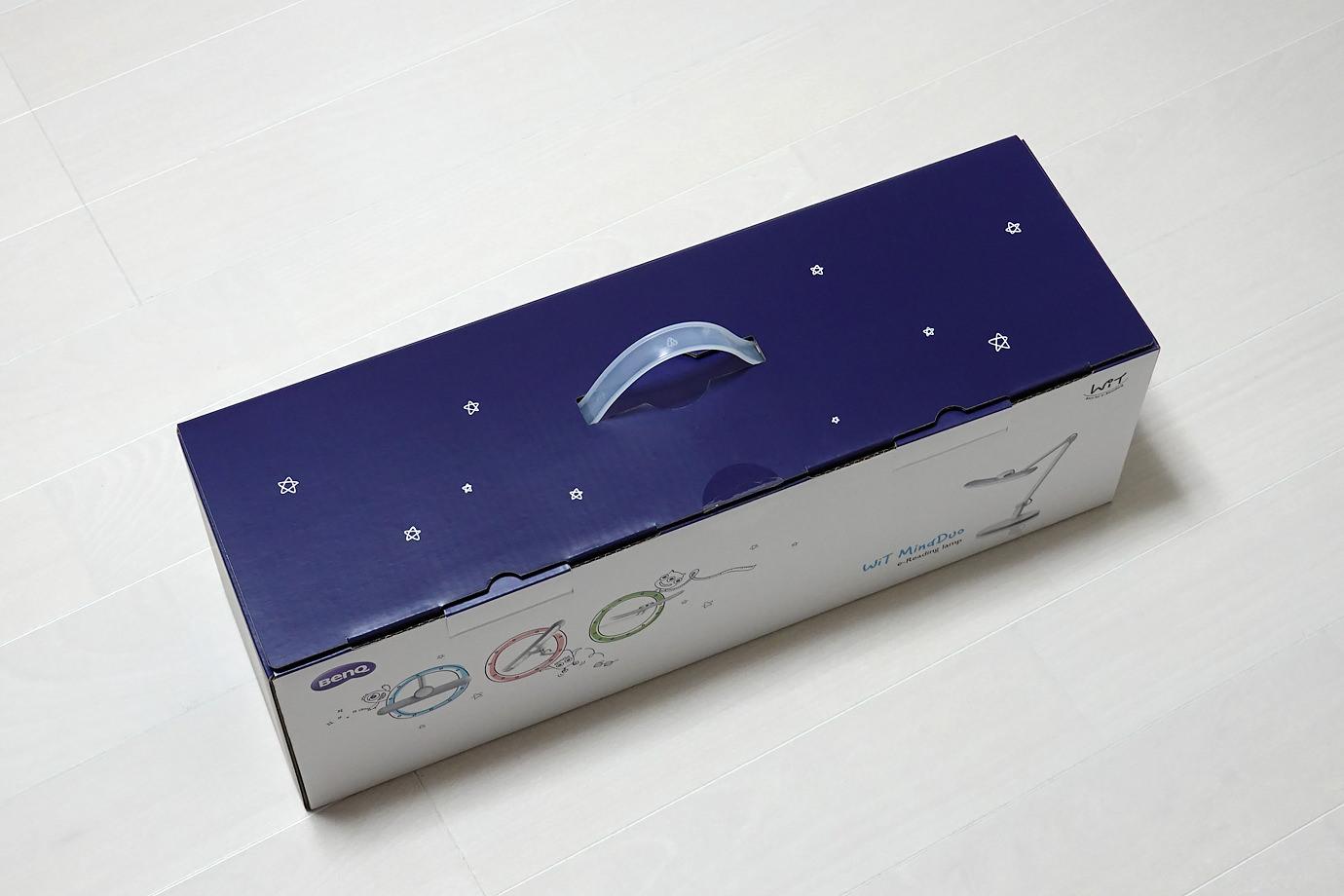 箱に描かれたお星さま