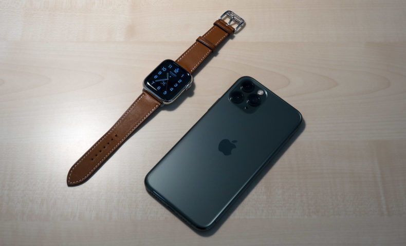 iPhone 11 ProとApple Watch Hermès