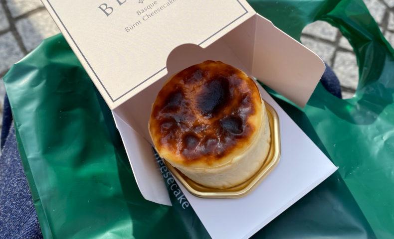 BELTZのバスクチーズケーキ